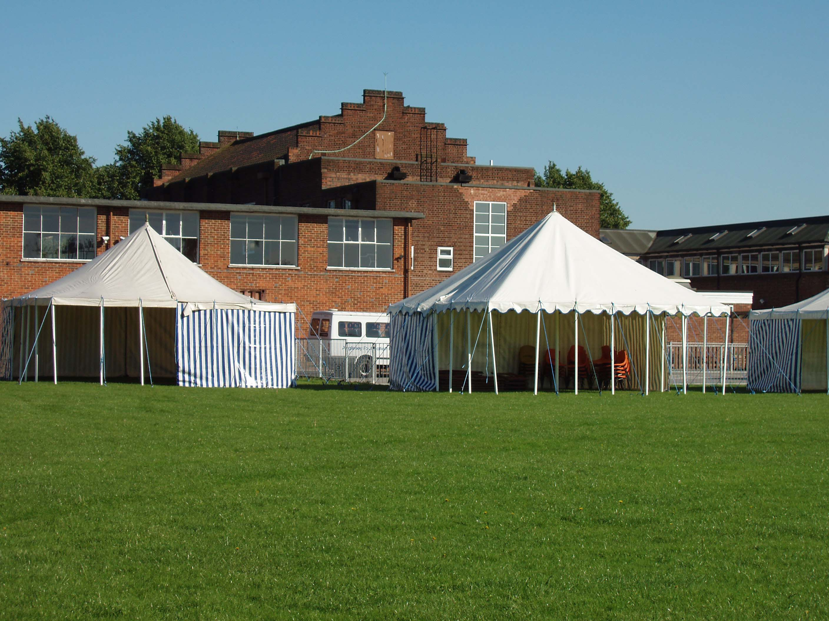 Roleston Scout Group 16x16 and 20x20 Marquee